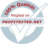 Gütesiegel Profitexter.net