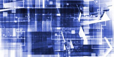 Daten-Zukunftswelt